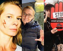 Gwiazdy nawołują do oprotestowania zakazu aborcji: Maja Ostaszewska, Magdalena Cielecka, Agata Młynarska, Maffashion... (ZDJĘCIA)
