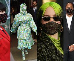 Moda w czasach koronawirusa. Gwiazdy zaczną nosić luksusowe gadżety ochronne? (ZDJĘCIA)