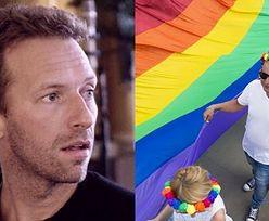 """Chris Martin z Coldplay wyznaje: """"BYŁEM HOMOFOBEM! Bardzo bałem się, że jestem gejem"""""""