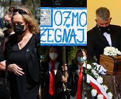Pogrzeb Bronisława Cieślaka: bliscy, fani i politycy żegnają aktora (ZDJĘCIA)