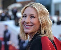 """Cate Blanchett miała wypadek z PIŁĄ MECHANICZNĄ. """"Brzmi bardzo, bardzo ekscytująco, ale tak nie było"""""""