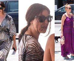 Ponadczasowa Monica Bellucci zadaje szyku na wysokich koturnach w trakcie wakacji w Grecji (ZDJĘCIA)
