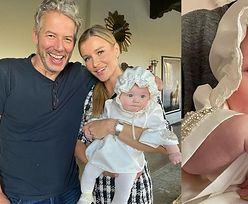"""Joanna Krupa ochrzciła Ashę-Leigh: """"Wyjątkowy dzień dla naszego aniołka"""" (ZDJĘCIA)"""