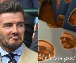 Beckhamowie świętują 45. urodziny Davida górą prezentów OBKLEJONYCH JEGO TWARZĄ (FOTO)