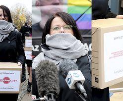 """Kaja Godek złożyła w sejmie projekt ustawy """"Stop LGBT"""" zakazującej marszów równości (ZDJĘCIA)"""