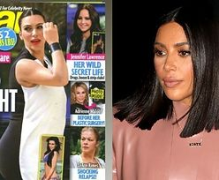 """Kim Kardashian wspomina, jak media drwiły z jej ciążowej sylwetki: """"Byłam UPOKARZANA okładkami. To mnie złamało"""""""