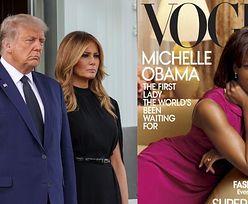 """Donald Trump się smuci, bo Melania nie zagościła na okładce żadnego cenionego magazynu przez całą jego kadencję: """"ELITARNE SNOBY"""""""