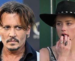 """Johnny Depp o Amber Heard: """"Nie tknąłbym tej pi*przonej dzi*ki nawet w kombinezonie ochronnym!"""""""