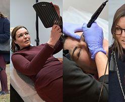 Dawno niewidziana Ilona Felicjańska robi brwi u kosmetyczki na USTAWCE z paparazzi... (ZDJĘCIA)