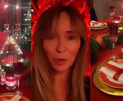 """Joanna Przetakiewicz chwali się radziecką (?) czerwienią na wigilijnym stole: """"TOTALNIE ZASZALAŁAM"""""""