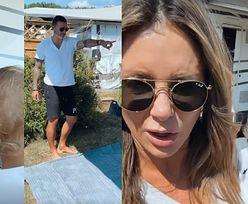 """Małgorzata Rozenek przeżywa trudy życia na campingu: """"Ja będę szła do bagażnika po ubrania w piżamie, po trawie?!"""""""