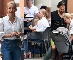 Rodzinni Katarzyna Warnke i Piotr Stramowski delektują się chwilami z córką w warszawskiej restauracji (ZDJĘCIA)