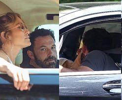 Jennifer Lopez i Ben Affleck CAŁUJĄ SIĘ w samochodzie podczas poszukiwań WSPÓLNEGO GNIAZDKA (ZDJĘCIA)