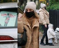 Kasia Tusk odwiedza dom rodziców z córką i wspiera Strajk Kobiet (ZDJĘCIA)