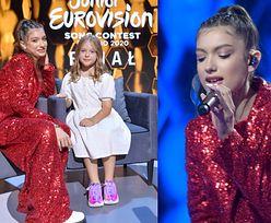 Viki Gabor w NOWEJ FRYZURZE pozuje do zdjęć ze swoją tegoroczną NASTĘPCZYNIĄ w konkursie Eurowizji Junior