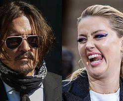 """Johnny Depp uderza w Amber Heard w kolejnym dniu zeznań: """"Piła dwie, trzy butelki wina DZIENNIE"""""""
