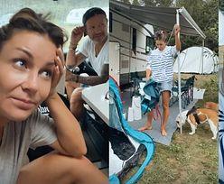 """PIĘĆ DNI. Tyle potrzebowała Małgorzata Rozenek w kamperze, żeby stwierdzić: """"CHCĘ DO DOMU"""""""