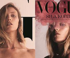 """Całkowicie OBNAŻONA Anja Rubik walczy o prawa kobiet na kolejnych okładkach """"Vogue Polska"""" (FOTO)"""