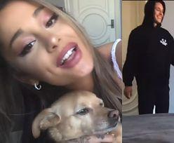 Rozanielona Ariana Grande pokazuje NOWEGO CHŁOPAKA w swoim teledysku! (WIDEO)