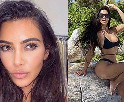 """Kim Kardashian photoshopuje STOPY?! """"ODCIĘŁAŚ SOBIE PALEC"""""""
