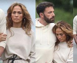 Jennifer Lopez tuli się na spacerze do Bena Afflecka. Miłość kwitnie? (ZDJĘCIA)