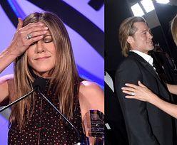 """Jennifer Aniston i Brad Pitt jednak SPOTKALI SIĘ po Oscarach! """"To była emocjonująca noc"""""""
