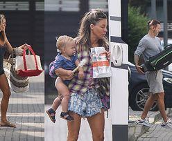 """Sfrustrowana Małgorzata Rozenek stresuje się rodzinną podróżą kamperem do Szwecji: """"To GORSZE niż """"Azja Express"""""""" (ZDJĘCIA)"""
