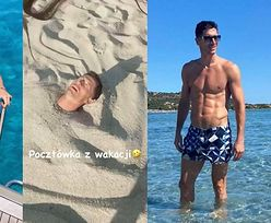 """Bajeczne wakacje Lewandowskich we Włoszech: """"szaleństwo"""" na plaży, rejs motorówką oraz lektura, jak być LEPSZĄ MATKĄ (ZDJĘCIA)"""