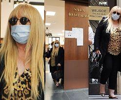 Posępna Maryla Rodowicz opuszcza salę sądową po PIĘCIU GODZINACH rozprawy (ZDJĘCIA)