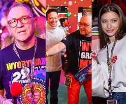 29. finał WOŚP. Celebryci wspierają akcję Jurka Owsiaka w studiu w Warszawie: Izabela Janachowska, Viki Gabor, Anna Dereszowska (ZDJĘCIA)