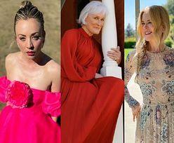 SAG Awards 2021. Wystrojone gwiazdy celebrują galę w domach: Nicole Kidman, Anya Taylor-Joy, Kaley Cuoco (ZDJĘCIA)
