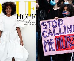 """Uczestniczka warszawskiego protestu #BlackLivesMatter trafiła na OKŁADKĘ """"Vogue Polska"""": """"Daje nadzieję NA LEPSZE JUTRO"""""""