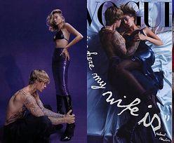 """Namiętni Justin Bieber i Hailey tulą się w """"Vogue'u"""": """"Przez długi czas nawet nie lubiliśmy CAŁOWAĆ SIĘ w miejscach publicznych"""" (ZDJĘCIA)"""