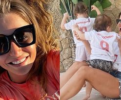 Anna Lewandowska pokazuje PÓŁ TWARZY Klary i Laury na zdjęciach z wakacji (FOTO)