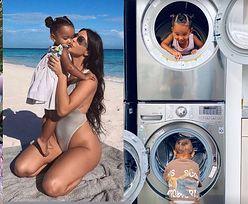 """Kim Kardashian wyprawiła """"lawendowe urodziny"""" córce Chicago (ZDJĘCIA)"""