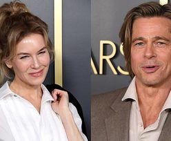 Brad Pitt UNIKAŁ spotkania z Renee Zellweger na oscarowym lunchu? (FOTO)