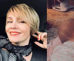 """Dzień Kobiet. Weronika Marczuk z dzieckiem na rękach wyznaje: """"O takim 8 marca marzyłam całe życie!"""""""