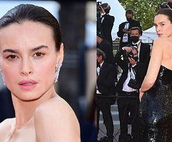 Cannes 2021. Skromna Kasia Smutniak pozuje na premierze (ZDJĘCIA)