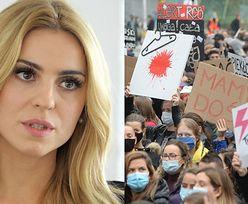 """Kasia Tusk odpowiada na zarzut o """"zbyt AGRESYWNE"""" protesty: """"TORTUROWANIE KOBIET JEST CIUT GORSZE"""""""
