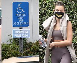 Bezwstydni Bieberowie przez godzinę zastawiają miejsce dla niepełnosprawnych podczas wizyty u lekarza (ZDJĘCIA)