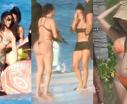 Słynna pupa Kim Kardashian wygrzewa się w słońcu na jednej z wysp Atlantyku (ZDJĘCIA)