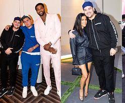 """ODCHUDZONY i wesoły Rob Kardashian świętuje urodziny Khloe. Zachwyceni fani: """"ALE CIACHO"""" (ZDJĘCIA)"""