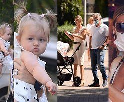 """Elegancka Joanna Krupa idzie z córeczką i mężem na lunch do """"restauracji celebrytów"""" (ZDJĘCIA)"""