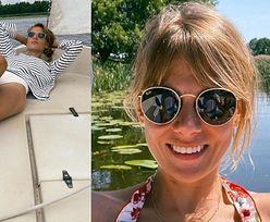 Odchudzona Marta Wierzbicka prezentuje długie nogi podczas weekendowego relaksu na żaglówce (FOTO)