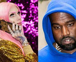 """Jeffree Star WYŚMIEWA plotki o romansie z Kanye Westem i wbija mu szpilę: """"To bez sensu, ja przecież lubię WYSOKICH mężczyzn"""""""