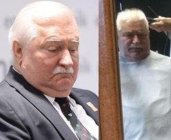 """Beztroski Lech Wałęsa pozuje u fryzjera BEZ MASECZKI. Internauci: """"Ktoś tu powinien dawać przykład, a ŁAMIE PRZEPISY!"""""""