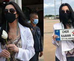 """Wiecznie młoda Cher pomaga transportować """"najbardziej samotnego słonia świata"""" do Kambodży (ZDJĘCIA)"""