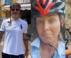 """Małgorzata Rozenek i Radosław Majdan odkrywają elektryczne rowery na włoskich wakacjach: """"To jest coś NIESAMOWITEGO"""" (ZDJĘCIA)"""