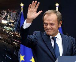 """Tłumy na proteście kobiet w Warszawie. Donald Tusk komentuje: """"JESZCZE POLSKA NIE ZGINĘŁA"""" (ZDJĘCIA)"""