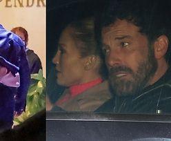 Jennifer Lopez WTULA SIĘ w Bena Afflecka w drodze do restauracji (ZDJĘCIA)